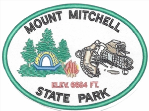 Mount Mitchell State Park Tent Patch