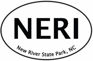 "New River Bumper Sticker  4"" x 6"""