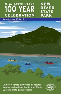 New River State Park Commemorative Poster