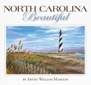 North Carolina Beautiful Book by Artist William Mangum