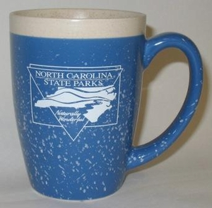 North Carolina State Parks  16oz. Blue Adobe Coffee Mug