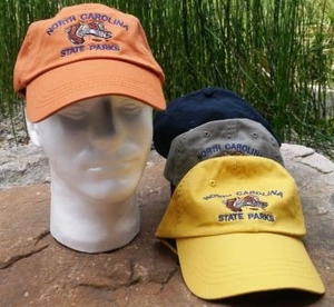 North Carolina State Parks Adjusting Baseball Hat