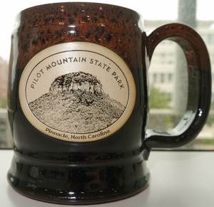Pilot Mountain State Park Coffee Mug