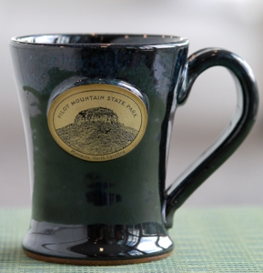 Pilot Mountain coffee mug