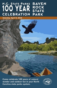 Raven Rock State Park Commemorative Poster