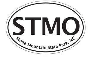 "Stone Mountain Bumper Sticker  4""x 6"""
