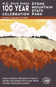 Stone Mountain State Park Commemorative Poster