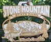 Stone Mountain State Park Wood Christmas Ornament