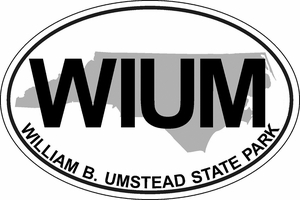 "William B. Umstead Bumper Sticker 4""x6"""