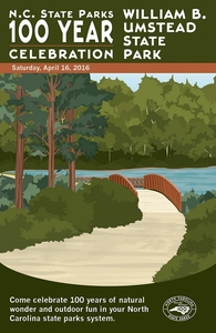 William B. Umstead State Park Commemorative Poster