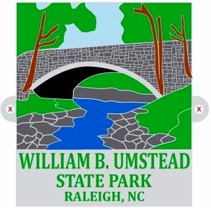 William B. Umstead State Park Hiking Medallion
