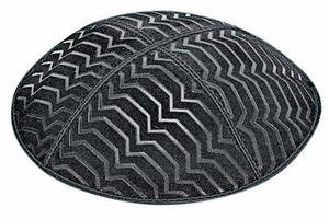BE167 Embossed Kippah