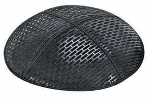 Brick Embossed Kippah