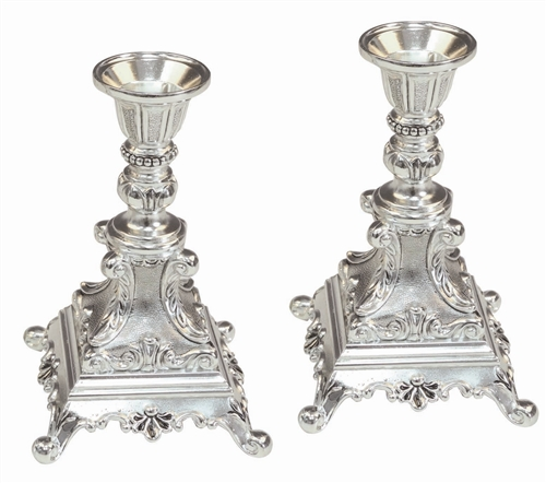 Candle Stick Silver Plated