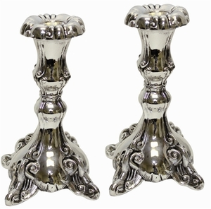 Candle Sticks Silver Plated