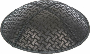 Chain Link Embossed Kippah