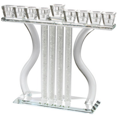 Crystal Menorah Harp
