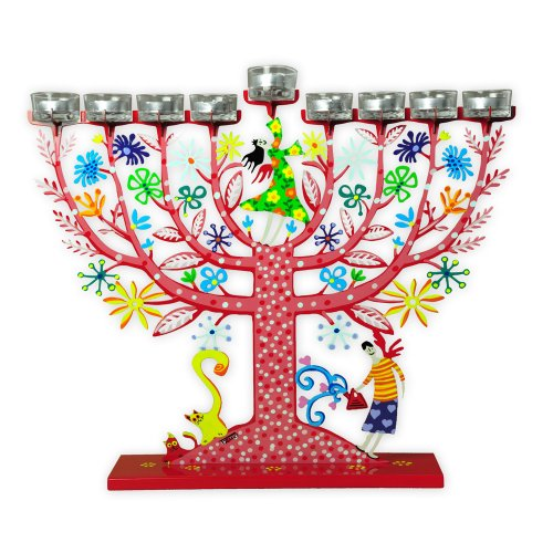 Family Tree of Life Menorah by Tzuki