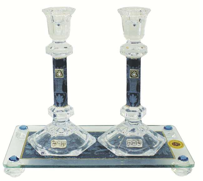 Glass Candle Sticks