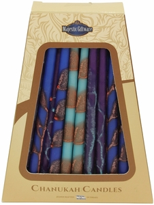 Safed Chanukah Candles Multy