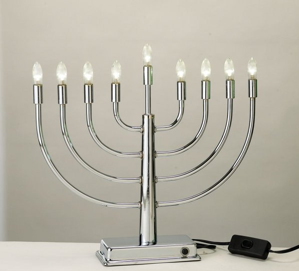 LED Low Voltage Electric Menorah