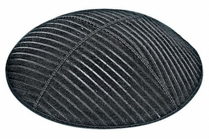 Medium Lines Embossed Kippah