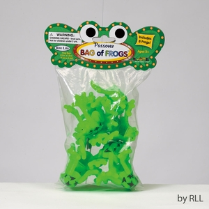 Passover Frogs, 8/Bag