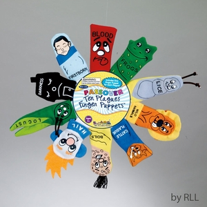 "Passover ""Ten Plagues"" Finger Puppets"