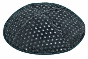 Pin Dots Embossed Kippah