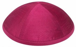 Raw Silk Kippot