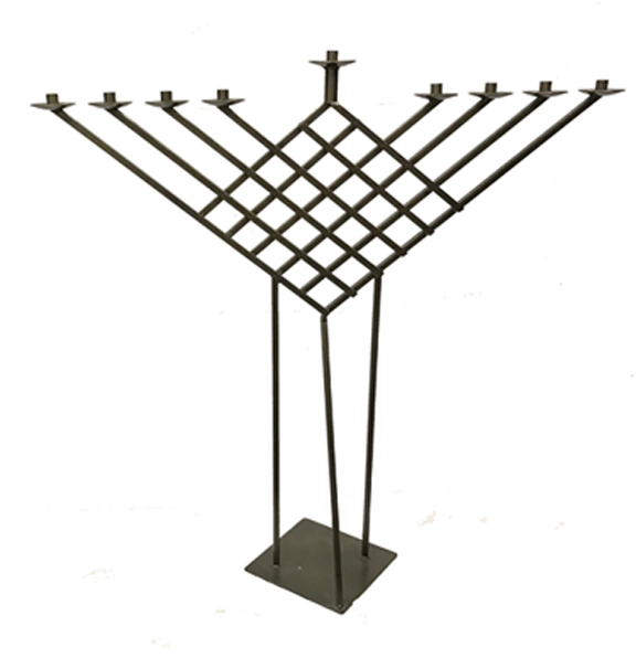 Self standing, display Menorahs for indoor and outdoor