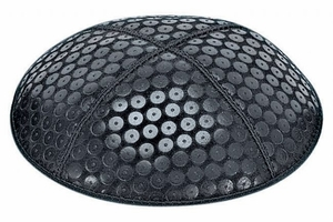 Sequins Embossed Kippah