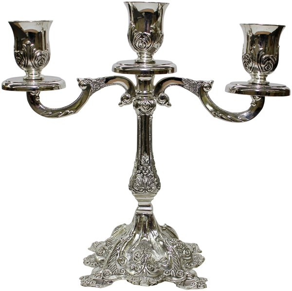 Silver Plated Candelabra 3