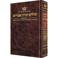 Tehillim / Psalms 1 Volume Full Size Transliterated Linear - Seif Edition