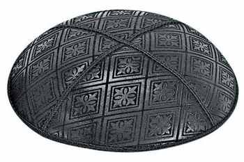 Tiled Embossed Kippah