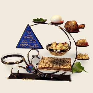 "Ultimate Seder Plate Combo <br/><font color=""blue"">FREE SHIPPING</font>"
