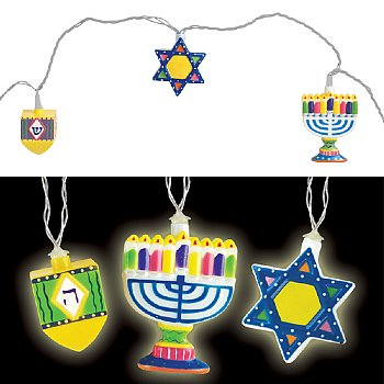 LED Hanukkah String of Lights