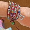 Hawaii Agate Wrap Bracelet