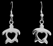HonuHeart (Turtle) Earrings Small