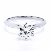 1.03ct Round Brilliant Diamond<br>F / SI3 EGL-USA