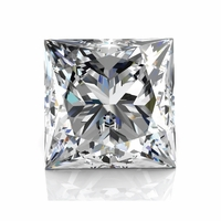 1.05ct Princess Cut Diamond - EGLUSA - SI3 G