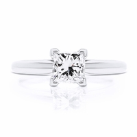 1.17ct Princess Cut Diamond H / I1 EGL-USA