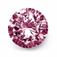 1.13ct Round Brilliant Fancy Pink Diamond