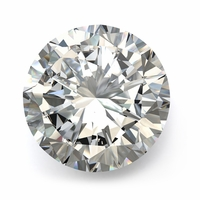 1.51ct Round Diamond VS1 clarity K Color - GIA