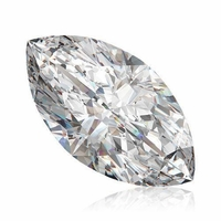 2.06ct Marquise Diamond, GIA, I Color, I1 Clarity