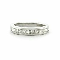 3/4ct Princess Cut Diamond Anniversary Band