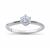 .33ct Round Brilliant Diamond Solitaire Ring, IGI Certified