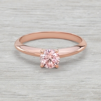 .54ct Pink Diamond Rose Gold Solitaire