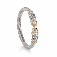 Alwand Vahan Filigree Bangle Bracelet - 20623