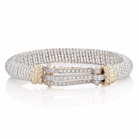 Three Row Diamond Bracelet by Alwand Vahan - 21524D